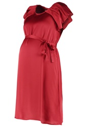 Mama Licious Mlveronica Cocktail Dress Party Dress Rosewood Dark Red