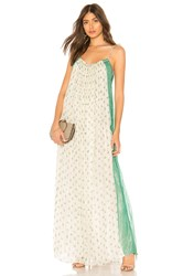 Mes Demoiselles Bethel Tie Shoulder Dress Ivory