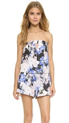 Keepsake To The Point Romper Watercolor Floral
