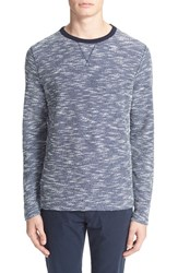 Men's Officine Generale Space Dye French Terry Sweatshirt