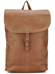 Eastpak Single Strap Closure Backpack Brown