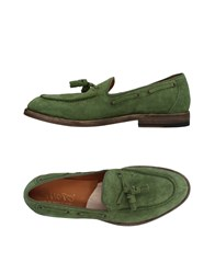 Shoto Loafers Green