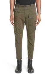 Men's Dsquared2 Military Cargo Pants