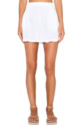 Michael Stars Flowy Skirt White