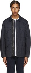Rag And Bone Navy Curren Jacket