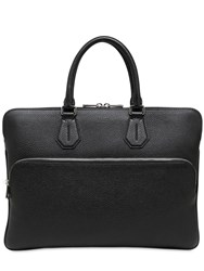 Bally Leather Laptop Briefcase