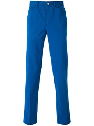 Versace Collection Chino Trousers Blue
