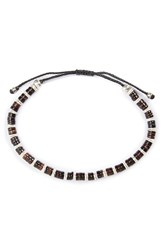 Link Up Men's Shell Bead Bracelet