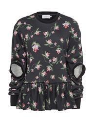Preen Re17 Kia Sweatshirt Black