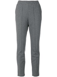 Alexander Wang T By Track Pants Cotton Grey