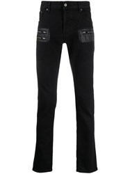 Just Cavalli Zip Detail Fitted Jeans 60
