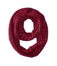 Echo Ombre Honeycomb Infinity Ring Berry Scarves Burgundy