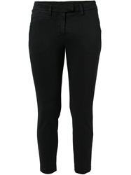 Dondup Classic Cropped Trousers Black