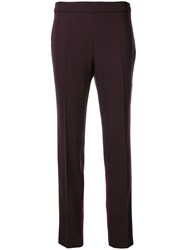 Moschino Tailored Trousers Pink And Purple
