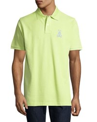 Psycho Bunny Short Sleeve Relaxed Polo Shirt Green