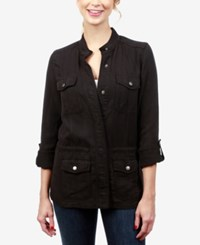 Lucky Brand Roll Tab Military Jacket