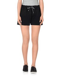 Tanomu Ask Me Trousers Shorts Women Black