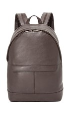 Michael Kors Odin Leather Backpack Brown