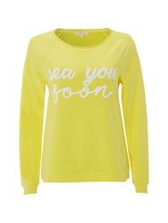 White Stuff Serena Sweat Yellow