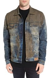 Prps Men's Mud Denim Jacket