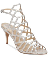 Vince Camuto Paxton Dress Sandals Women's Shoes Earl Grey