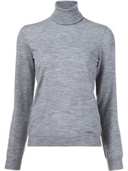 Dsquared2 Roll Neck Jumper Grey