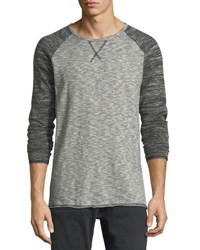 Civil Society Raglan Sleeve Crewneck Tee Gray