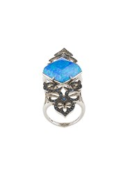 Stephen Webster Crystal Haze Long Finger Ring Gold