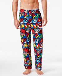 Briefly Stated Men's Avengers Lounge Pants Red