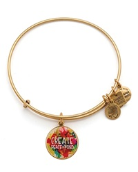 Alex And Ani Peace Of Mind Expandable Wire Bangle Charity By Design Collection Rafaelian Gold