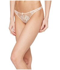 Agent Provocateur Angelica Thong Nude Ivory Women's Underwear Beige