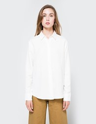 Jesse Kamm Georgio Button Down Salt White