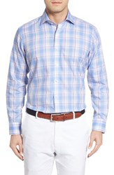 Peter Millar Men's Peninsula Plaid Sport Shirt