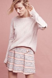 Anthropologie Starry Cashmere Pullover Pink