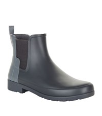 Hunter Original Refined Two Tone Chelsea Boot Wellies Female Grey