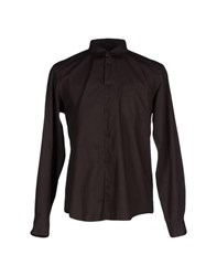 Boss Orange Shirts Shirts Men Dark Brown