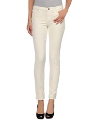 Ag Adriano Goldschmied Casual Pants Ivory