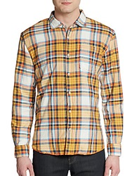 Arnold Zimberg Plaid Cotton Sportshirt Multi