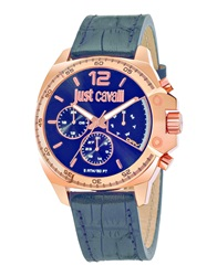 Just Cavalli Wrist Watches Dark Blue