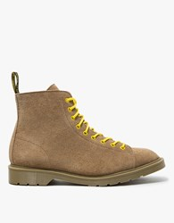 Off White Dr. Martens X Les Boots Light Brown