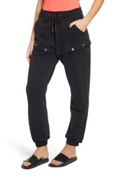 Ivy Park Armour Popper Convertible Joggers Black