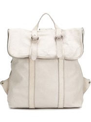 Guidi 'Mr04' Backpack White