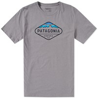 Patagonia Fitz Roy Crest Tee Grey