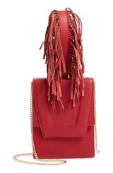 Danielle Nicole Alivia Leather Clutch Red