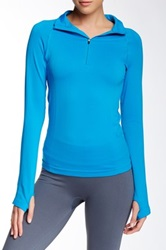 Yummie Tummie Juliet Half Zip Jacket Blue