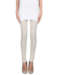 Jijil Trousers Leggings Women Ivory