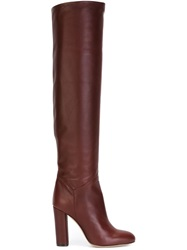 Petar Petrov Calf Length Boots Red