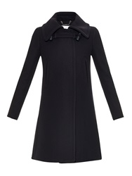 Chloe Oversized Collar Wool Blend Coat