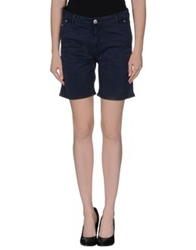 Care Label Bermudas Dark Blue