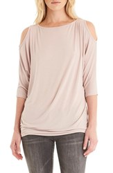 Michael Stars Women's Cold Shoulder Tee